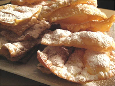 frappe bugie chiacchiere ricetta carnevale