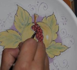 pittura ceramica