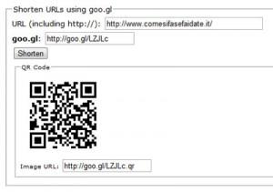 Come creare qr code