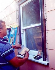 riparare muro finestre porte