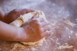 Ricetta della pasta di sale per bambini